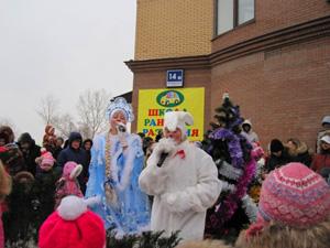 Новогодний праздник Снеговик собирает друзей от детского развивающего центра АЗБУКА