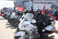 """Традиционным областным праздником """"Мы вместе за безопасность дорожного движения"""" откроется мотосезон 2016 в Подмосковье."""