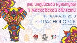 Фестиваль «День индийской культуры» в Красногорске.